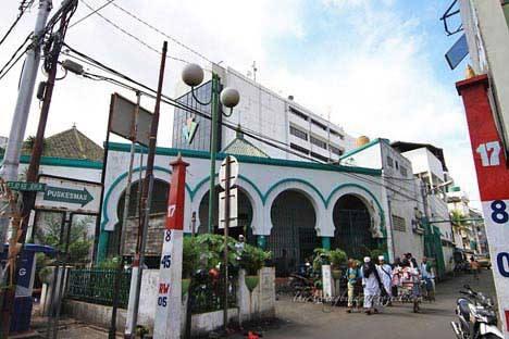 Markaz Indonesia. Masjid Jami' Kebon Jeruk, Jalan Hayam Wuruk, Jakarta. INDONESIA