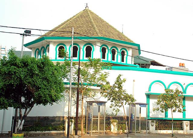 Masjid Jami' Kebon Jeruk, Jakarta. Indonesia